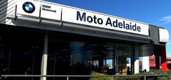 Moto Adelaide BMW store front