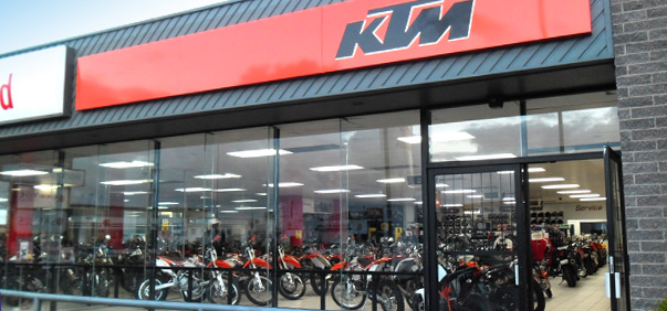 Moto Adelaide KTM store front